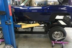 1963 Blue Corvette Resto Mod