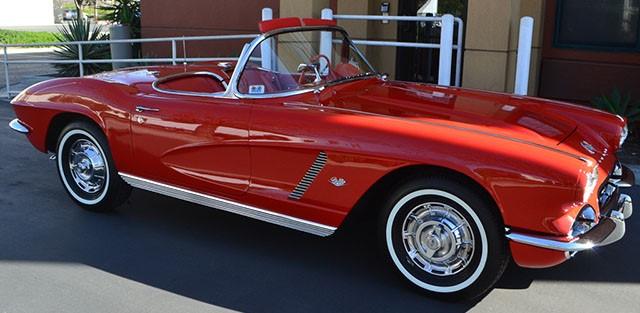 1962 Chevrolet Corvette Convertible Roman Red