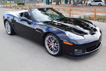 Black w/Ebony interior, 427/505hp, 2013 Black Corvette 427 Convertible