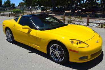 Very sharp, local Corvette Coupe.