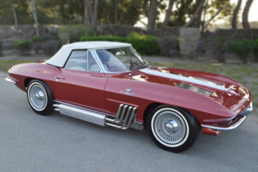 1963 Bunkie Knudsen New York Auto Show Corvette Convertible