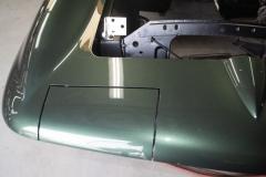 1967 green convertible restoration 10