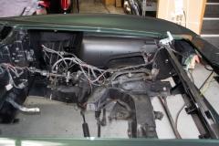 1967 green convertible restoration 11