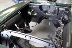 1967 green convertible restoration 2