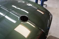 1967 green convertible restoration 5