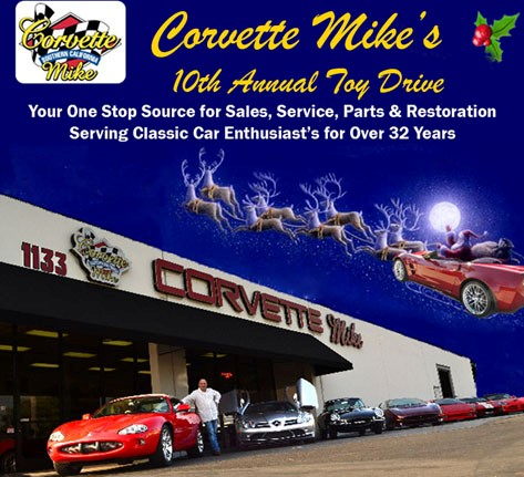 Corvette Mike Toy Drive