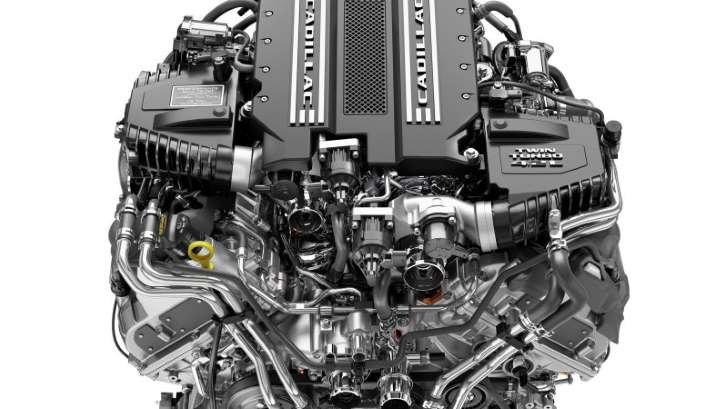 Cadillac to Corvette: You're not getting our twin-turbo V8