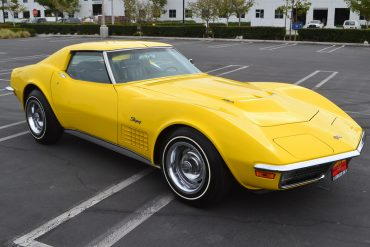 1971 yellow corvette ls6 6