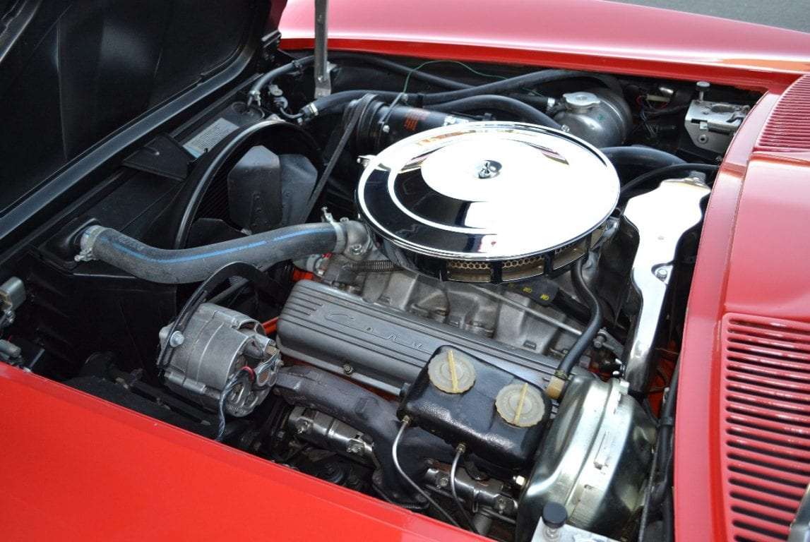 1965 rally red l79 corvette convertible 25