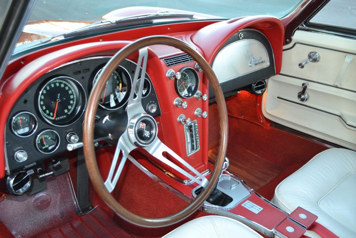 1965 rally red l79 corvette convertible 27