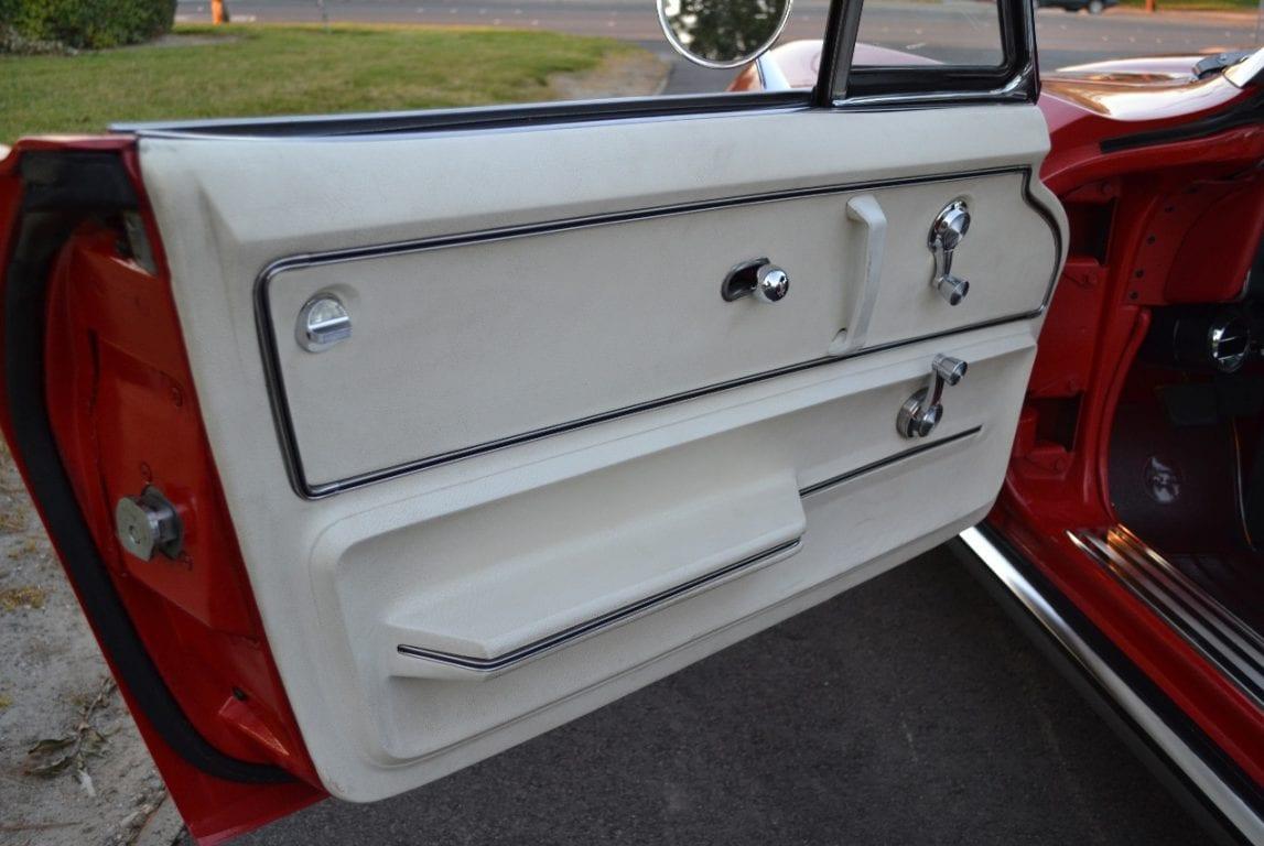 1965 rally red l79 corvette convertible 28