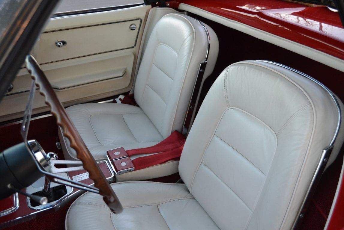 1965 rally red l79 corvette convertible 29