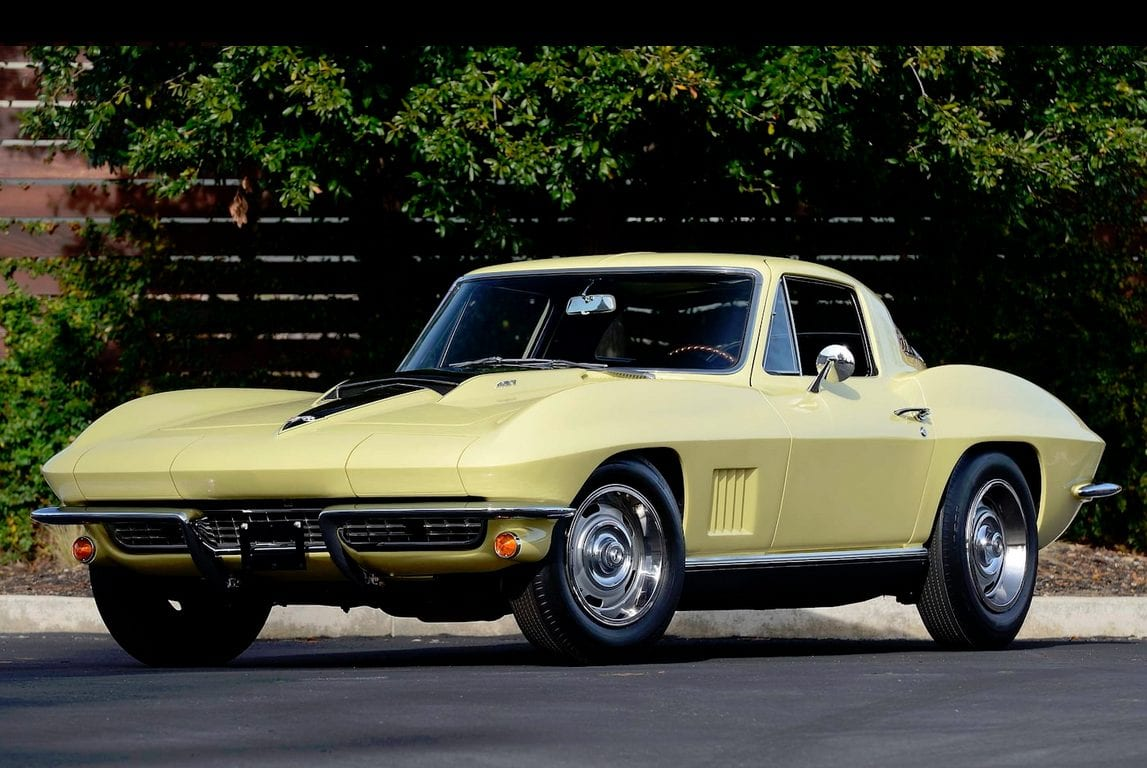 1967 yellow corvette l88 1