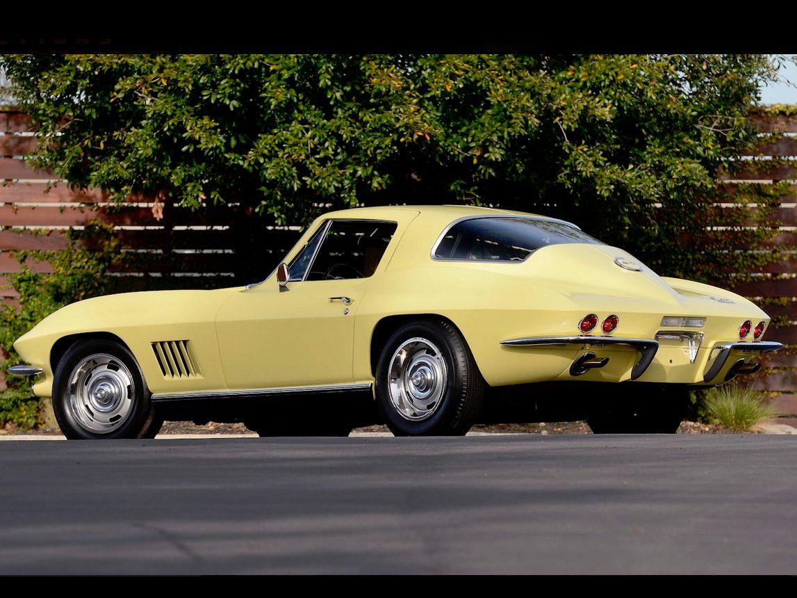 1967 yellow corvette l88 14