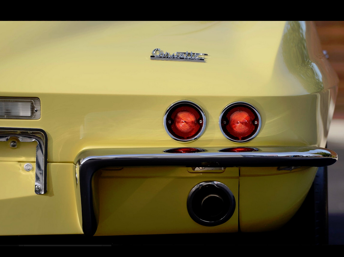 1967 yellow corvette l88 17