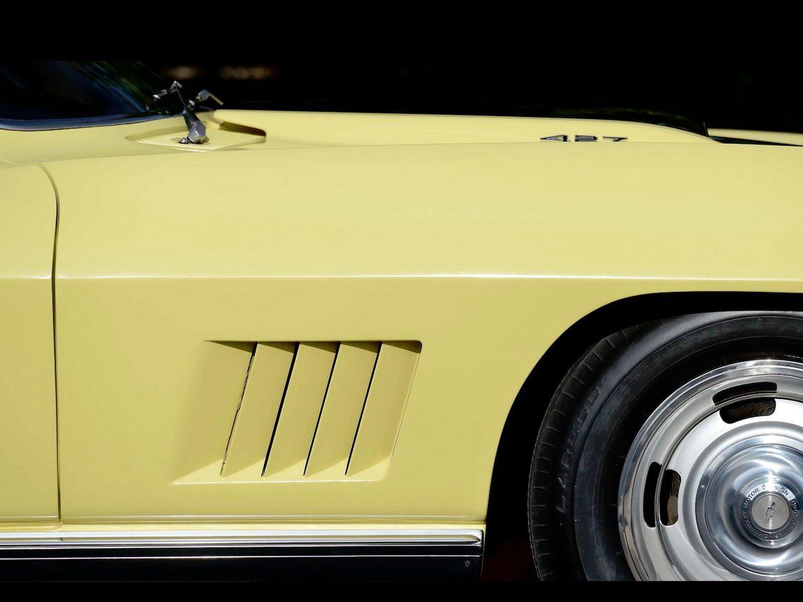 1967 yellow corvette l88 20