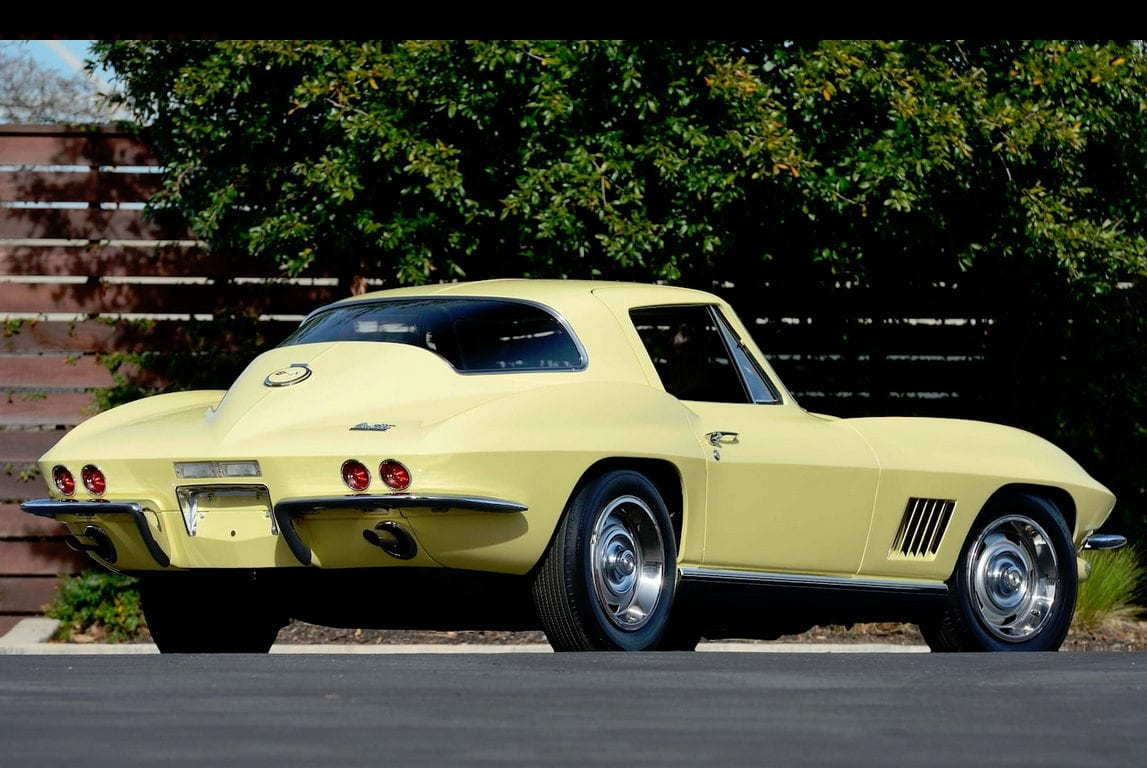 1967 yellow corvette l88 3