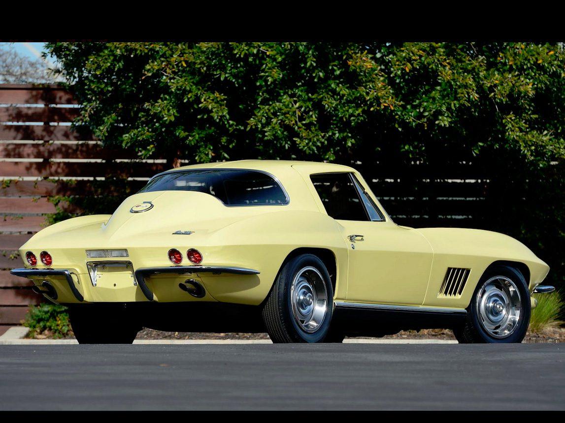 1967 yellow corvette l88 3