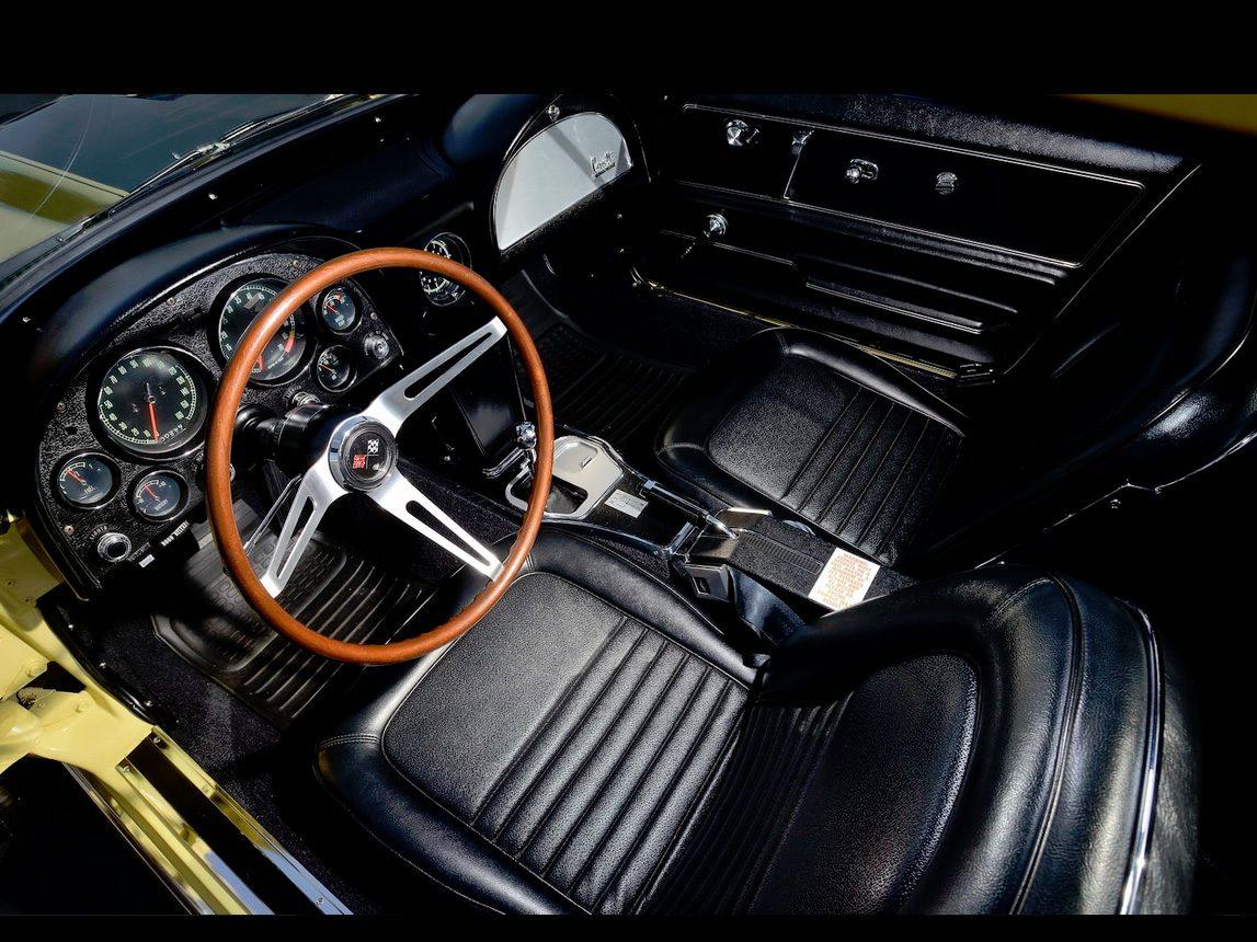 1967 yellow corvette l88 4