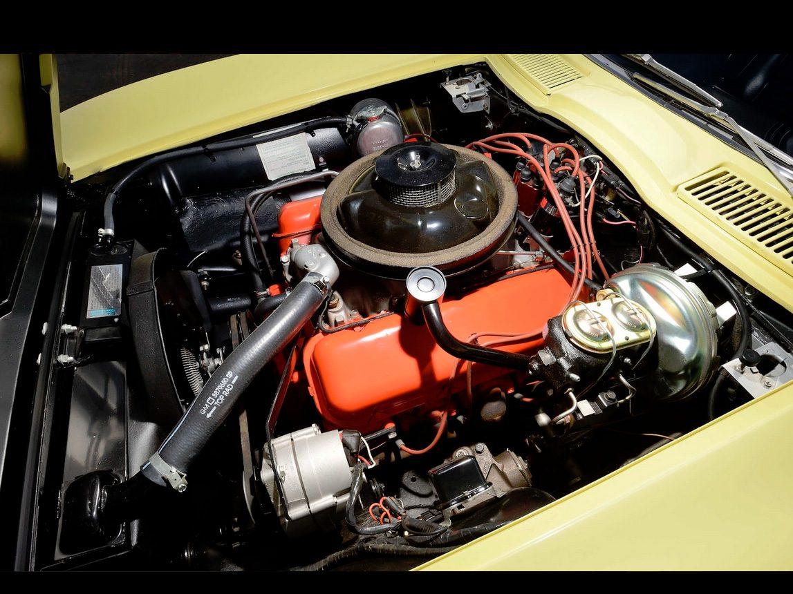 1967 yellow corvette l88 6