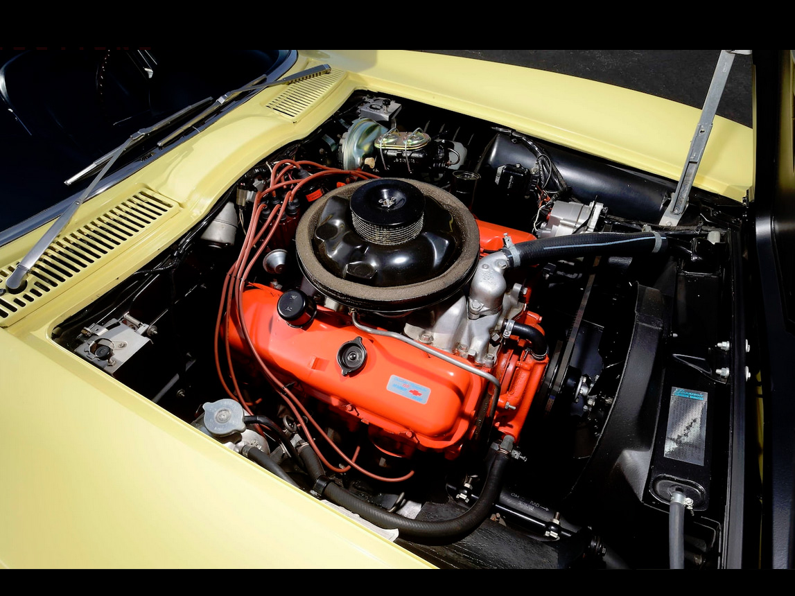1967 yellow corvette l88 7