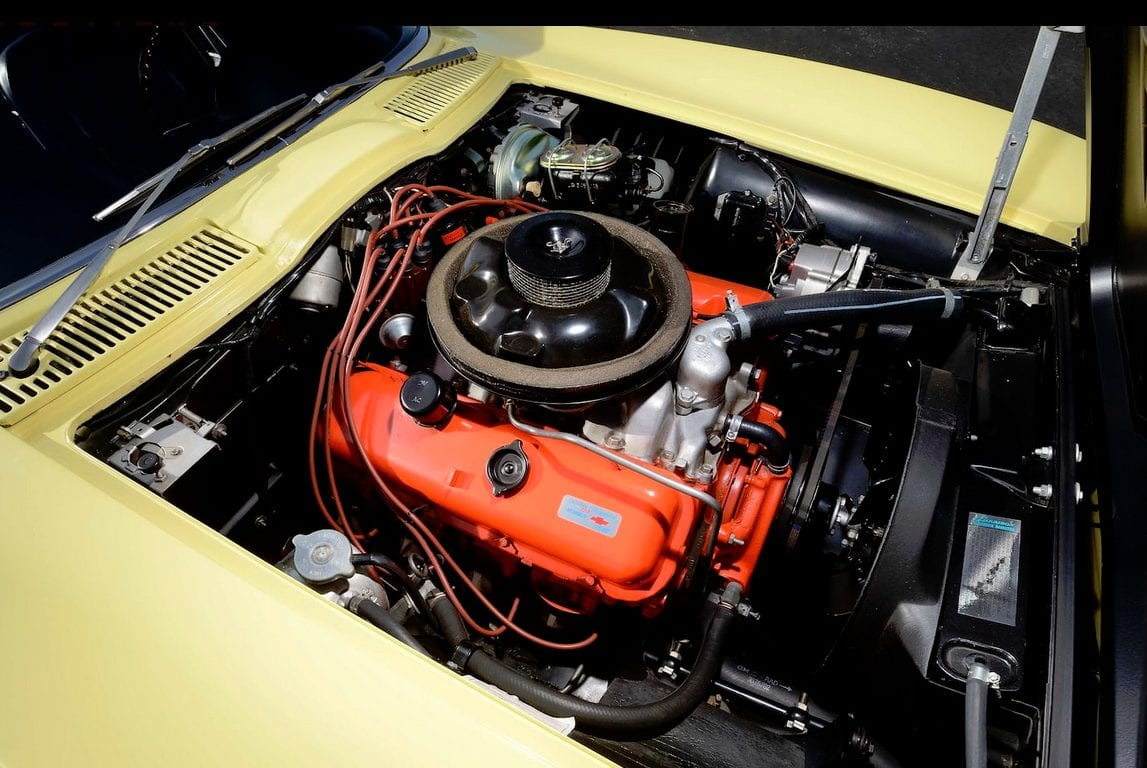 1967 yellow corvette l88 8