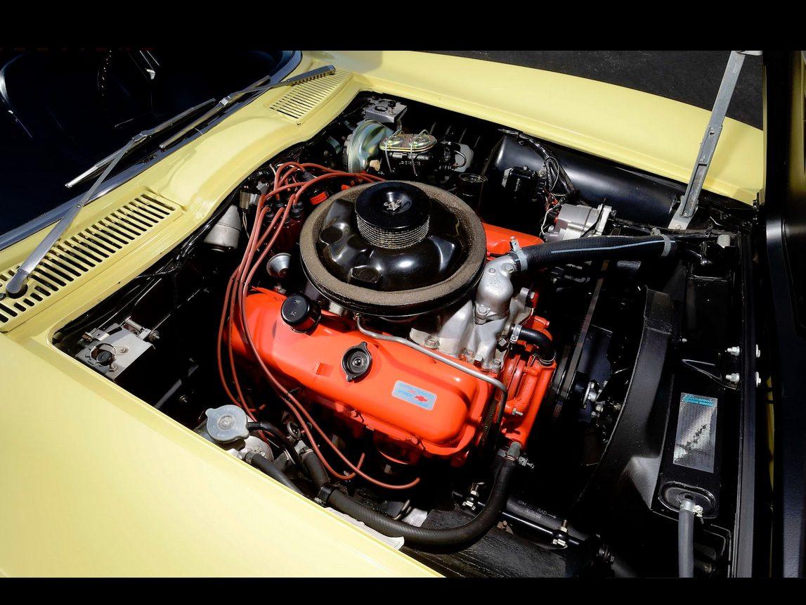 1967 yellow corvette l88 8