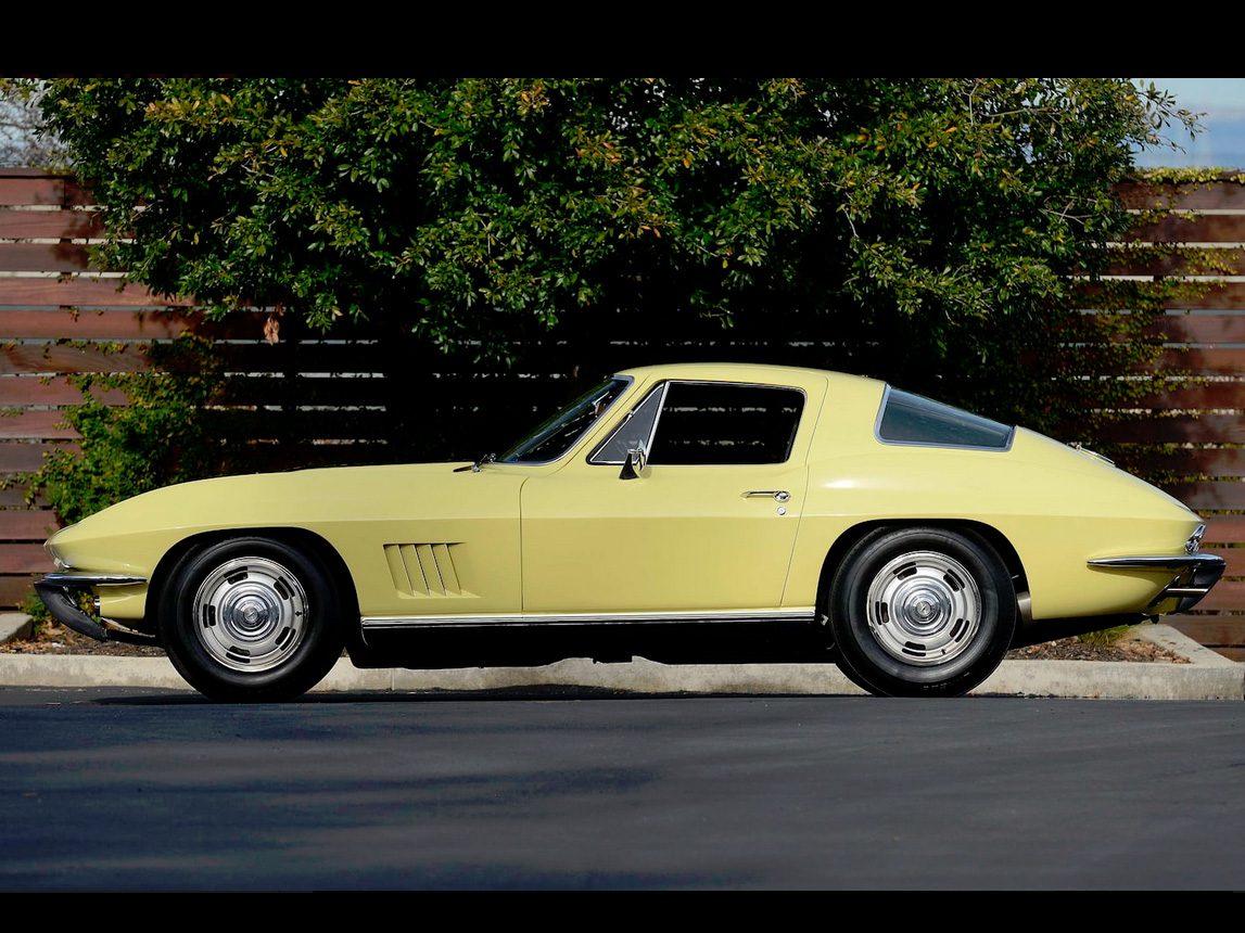 1967 yellow corvette l88 9