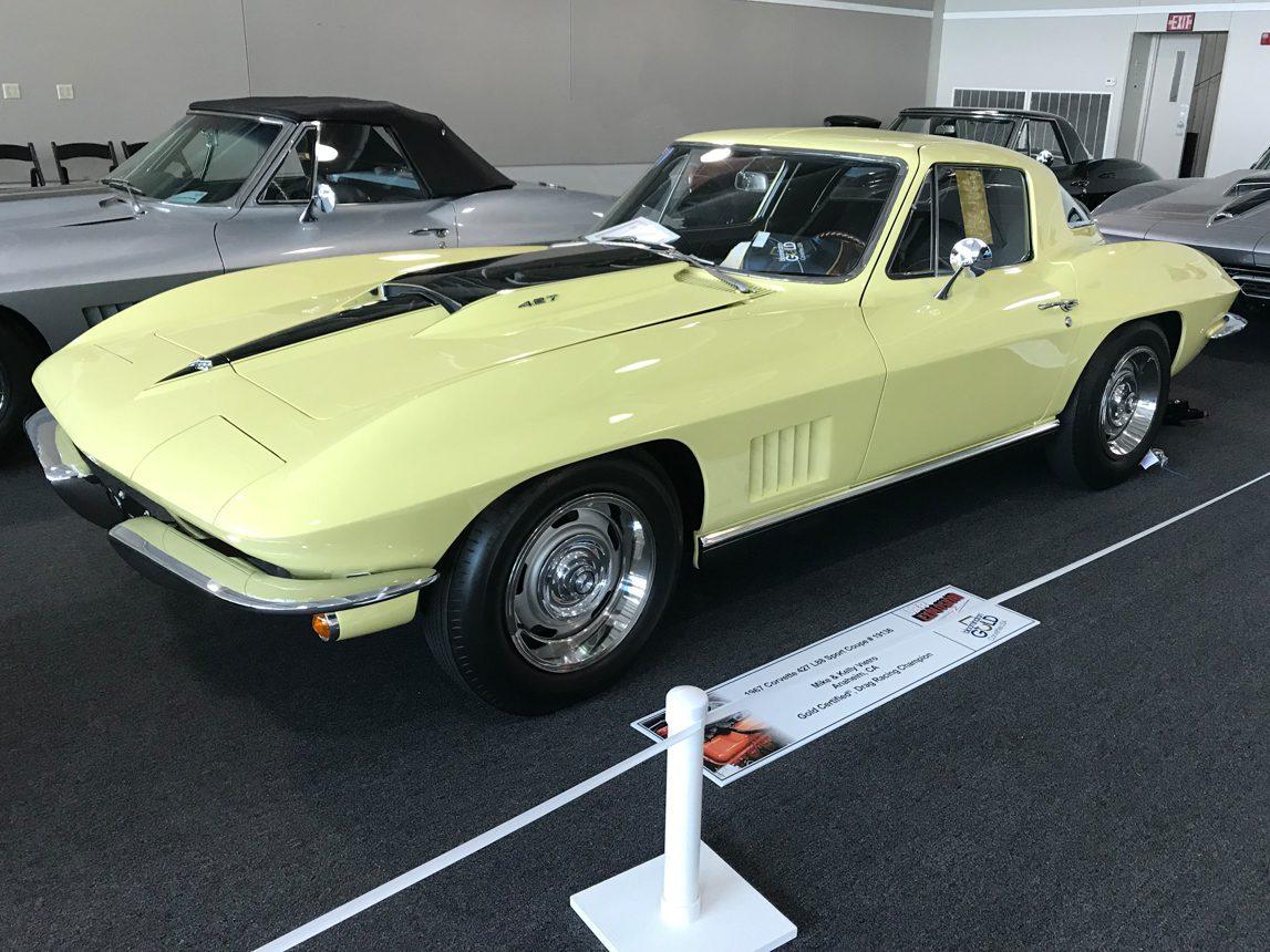 1967 yellow l88 blooington gold 1