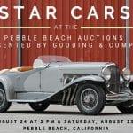 pebble beach star cars