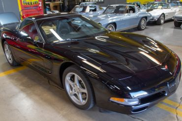 2004 black corvette coupe 0688