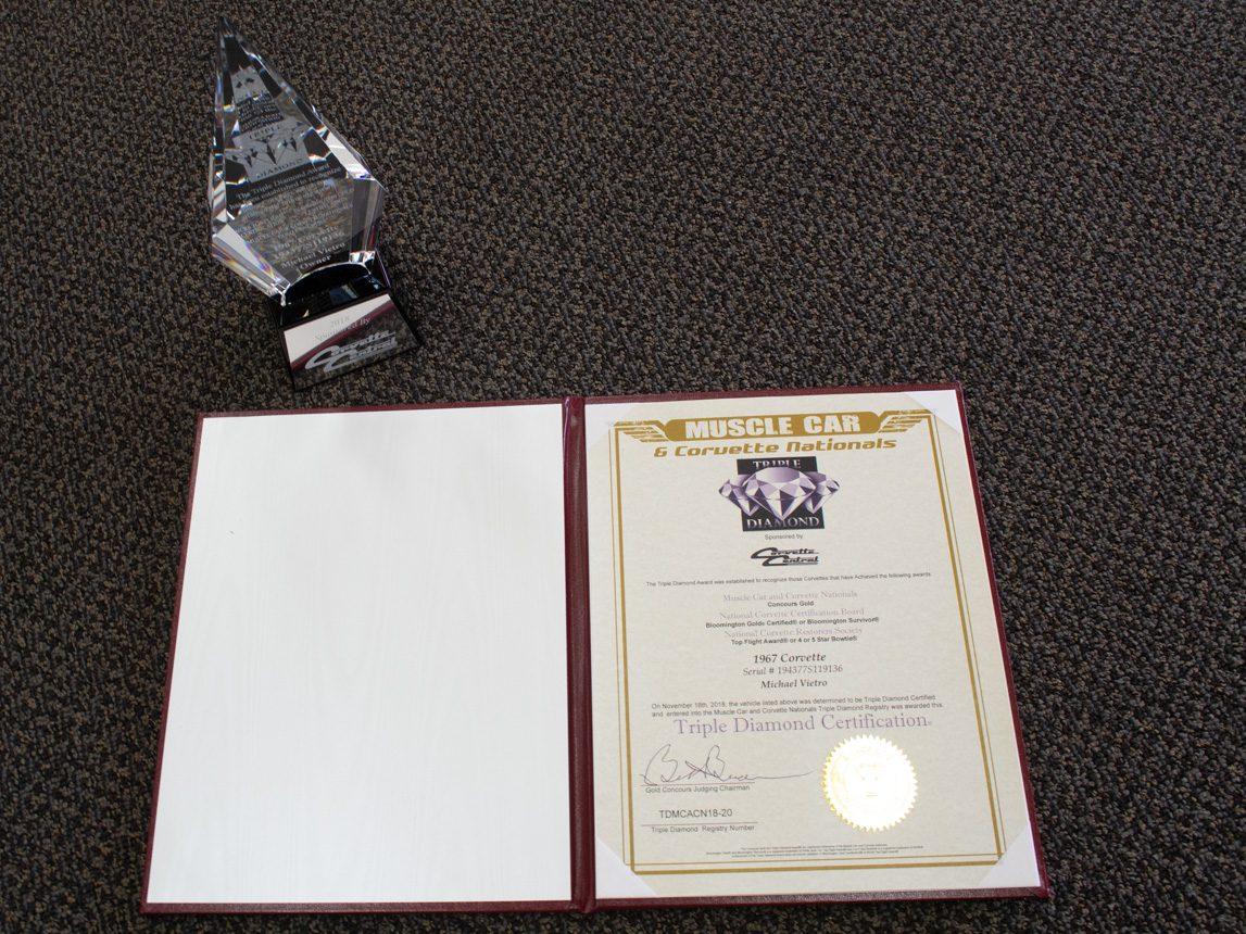 1967 yellow l88 awards 0804