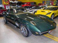 1969 green corvette l71 coupe 0211