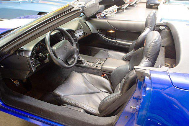 1996 Grand Sport Convertible Corvette int