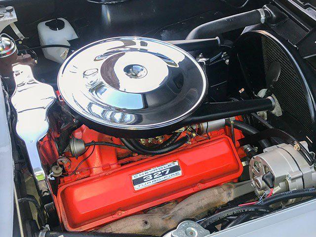 1964 Corvette Convertible eng