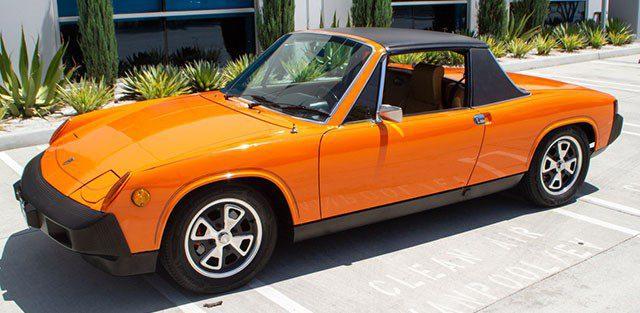 1975 Porsche 914 Targa