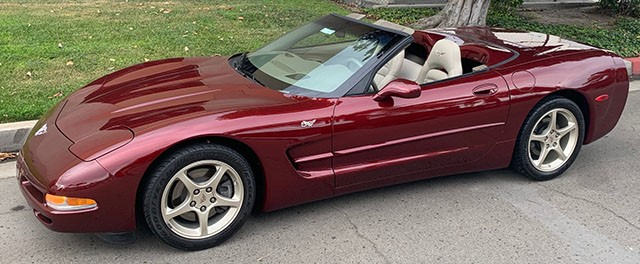 2003 Corvette Convertible Anniversary Edition
