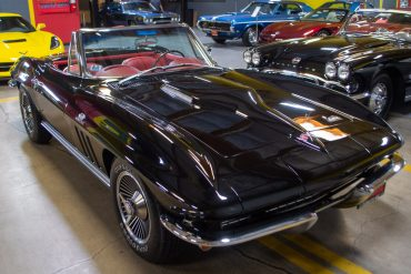 1966 black corvette l36 convertible 0348