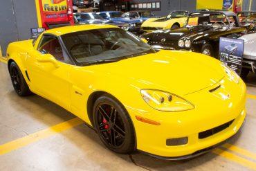 2007 yellow corvette z06 0756