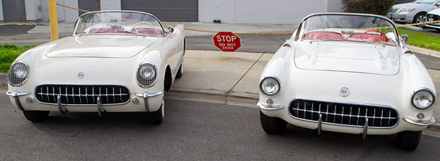 1955 a 1957 white