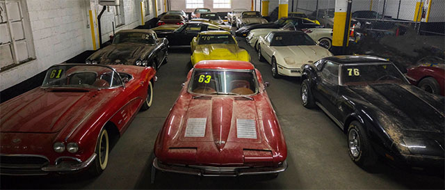 peter max corvette collection