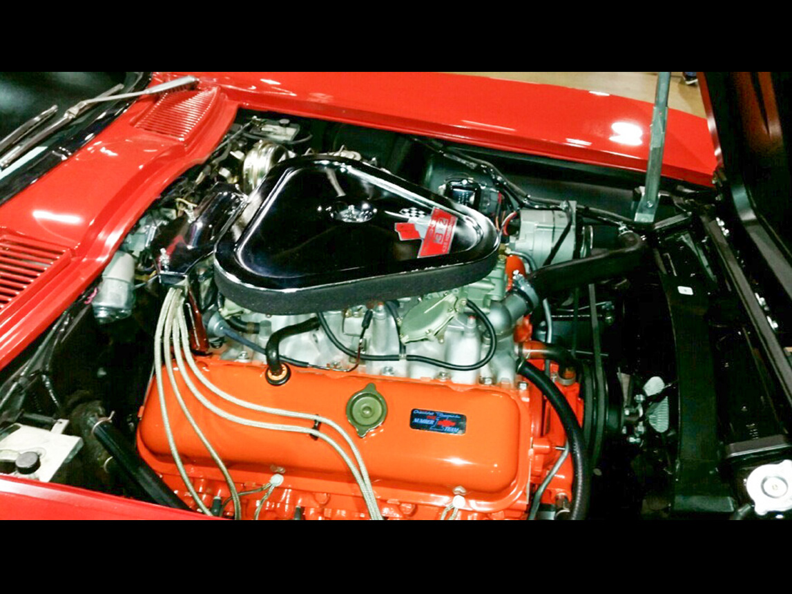 1967 10k mile 427 435 rally red 4966
