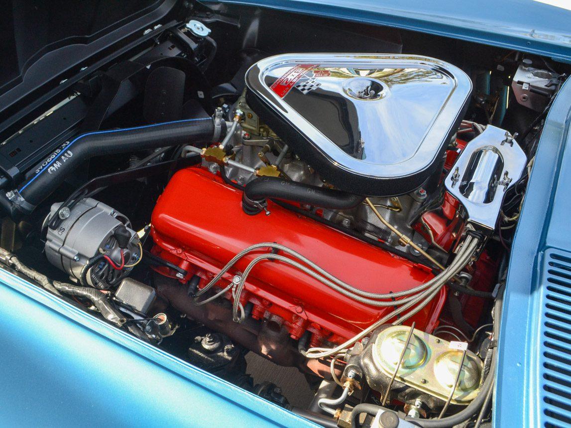 1967 blue corvette l71 coupe 0319