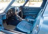 1967 blue corvette l71 coupe 0332