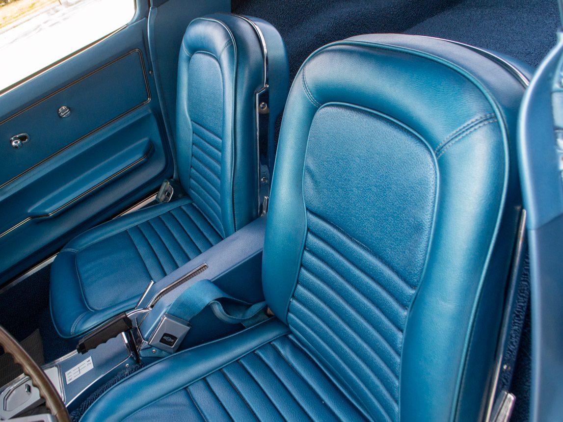1967 blue corvette l71 coupe 0334