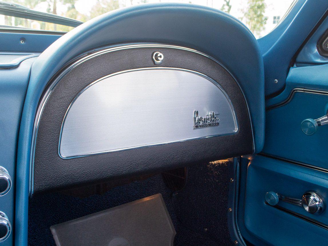 1967 blue corvette l71 coupe 0340