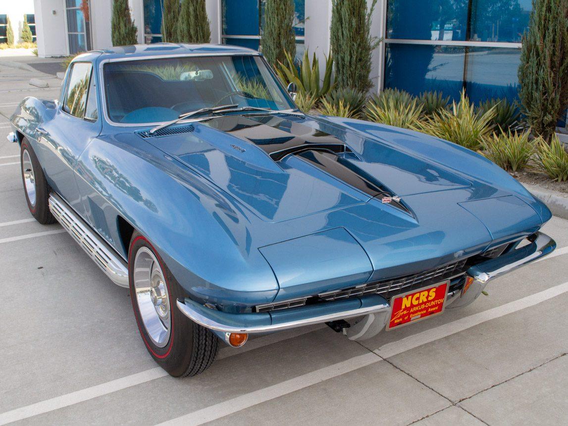 1967 blue corvette l71 coupe 0344