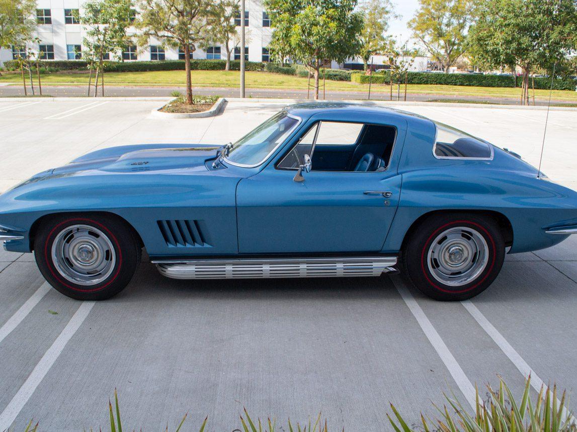 1967 blue corvette l71 coupe 0347
