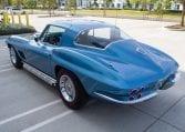 1967 blue corvette l71 coupe 0348
