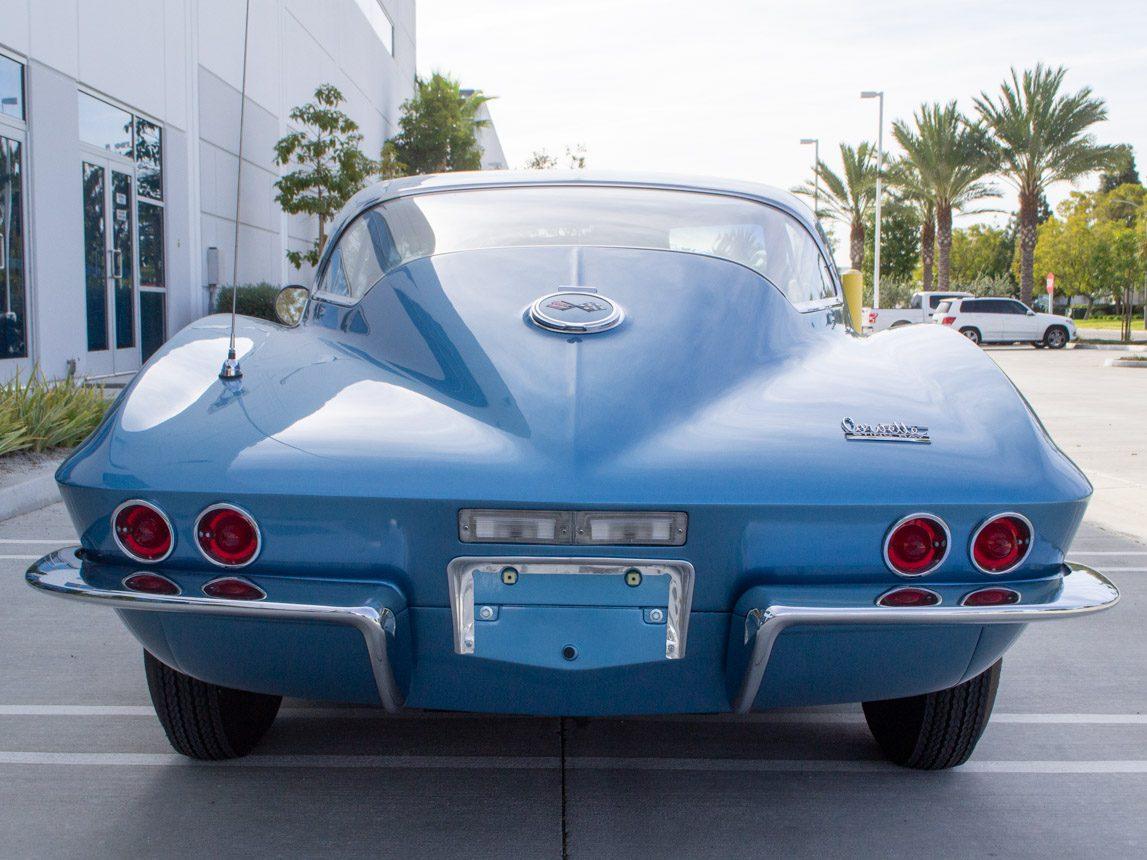 1967 blue corvette l71 coupe 0349